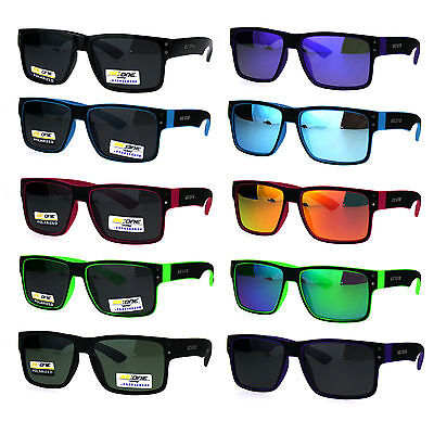 Kids Size Boys Polarized Narrow Rectangular Agent Plastic Sunglasses