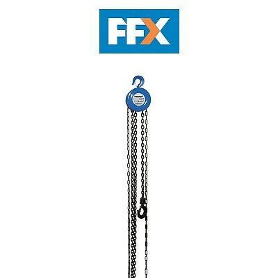 Silverline 633705 Chain Block 1000kg / 2.5m Lift Height