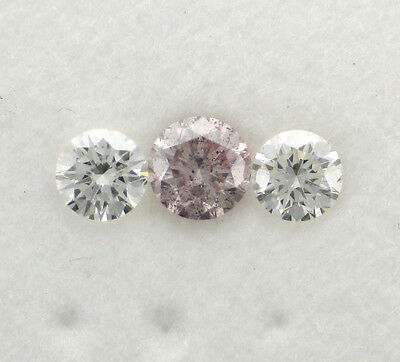 Natural Argyle Pink Diamond 1x0.21ct 8P/P1 RBC Pink Dia Only