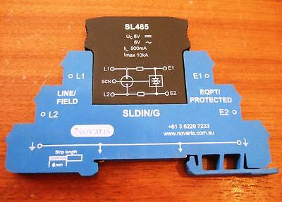 Novaris SL485 Signal Data Line Protection - Surge Spike Transient DIN rail NEW