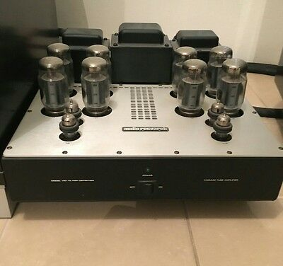 Audio research vs115 power amplifier