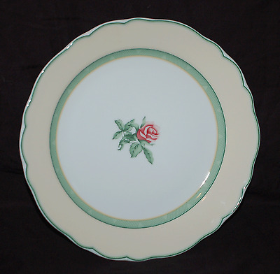 """One 8-1/4"""" Salad Plate Wedgwood English Cottage Cream with Yellow Rim"""