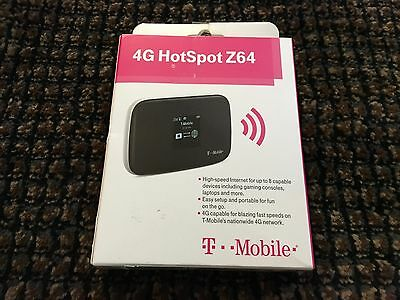 T-Mobile 4G HOTSPOT Z64 HIGH SPEED INTERNET FOR 8 CAPABLE DEVICES