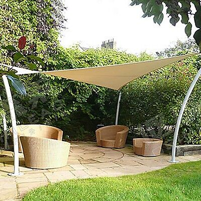 Fashion Summer Sun Shade Sail Triangle Awning Fabric Patio Outdoor Canopy Cover