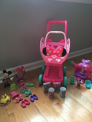 Lot of Disney Minnie Mouse Toys