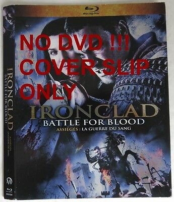 No Discs !! Iron Clad Blu-Ray Cover Slip Only - No Discs !!     (Inv13491)