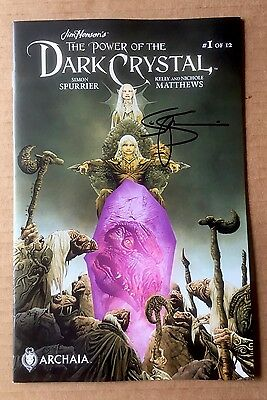 Power Of The Dark Crystal #1 NM - Signed by Simon Spurrier