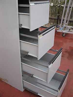 Statewide 4 Drawer Filing Cabinet With Key Good Working Condition. See Photos