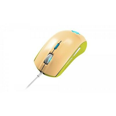 raton gaming mouse SteelSeries Rival 100 Optico GAIA verde