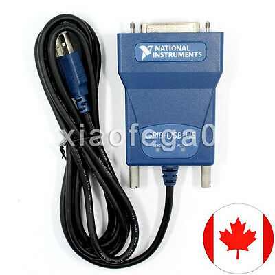 National Instrumens NI GPIB-USB-HS Interface Adapter IEEE 488 New In Box Canada!