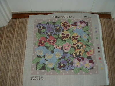 Primavera 'Pastel Pansies' Tapestry Kit by Joanna Allen
