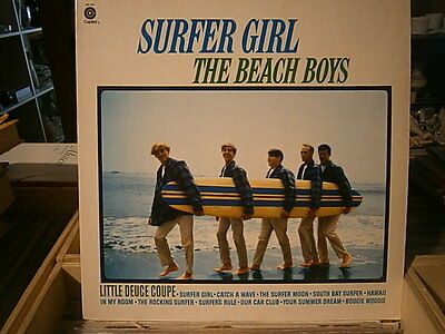 lp beach boys - surfer girl - sm 1981