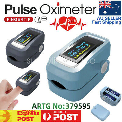 OLED Heart Rate Monitor Finger Display Oximeter Health Blood Oxygen SPO2 Pulse