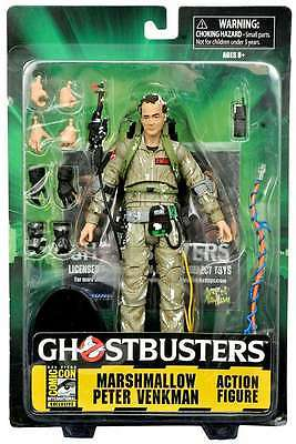 "PETER VENKMAN Ghostbusters MARSHMALLOW SDCC Diamond Select Bill Murray 7"" Figure"