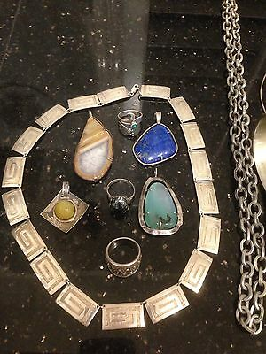 Sterling Silver Mixed Lot Jewellery