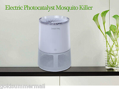 Smart Frog Electric Mosquito Killer UV Lamp Inhaled Insect Repellent EU Plug