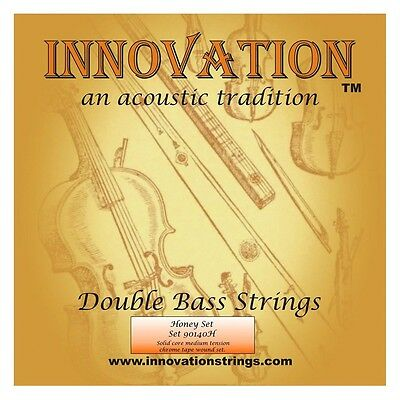 USED Innovation 140H Honey Double Bass Strings Free Delivery UK Made