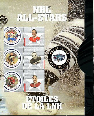 CANADA -2001 NHL - ALL STARS GAME SS MNH - IN ORIGINAL FOLDER -2nd IN A SERIES