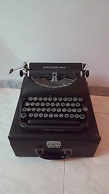 Maquina de escribir Antigua, Remington rand Deluxe Model 5