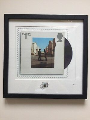 Pink Floyd Royal Mail Framed Print New - Wish You Were Here 226/750
