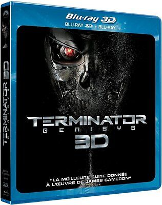 TERMINATOR GENISYS Blu Ray 3D + Blu Ray NEUF SOUS BLISTER