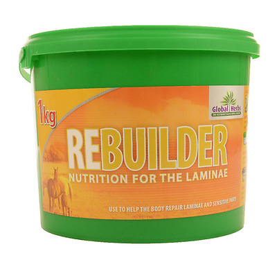 Global Herbs Rebuilder 1 Kg Supplement For Horses And Ponies