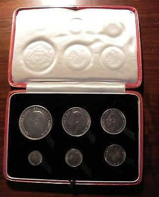1927 Great Britain Silver Proof Set In Box