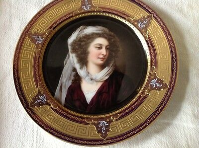 Outstanding Royal Vienna Plate