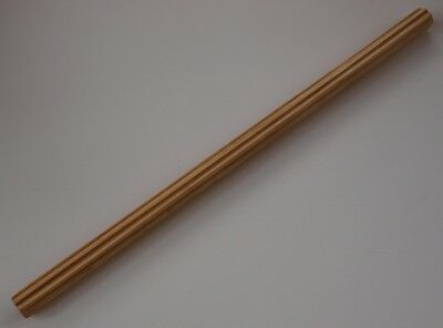 Wet Felting Ribbed Roller / Rolling Pin - Extra Large 30 Inches