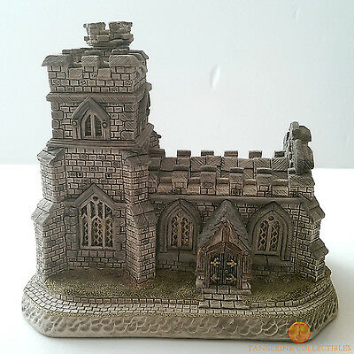 David Winter Cottages ST. CHRISTOPHER'S CHURCH Boxed With COA