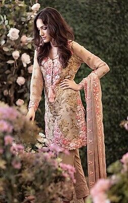 Ethnic Women Pakistani Designer Party Wear Mina Hassan Suite gullahmad