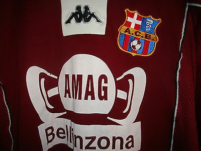 Bellinzona Home football shirt Switzerland size L rare old # 20