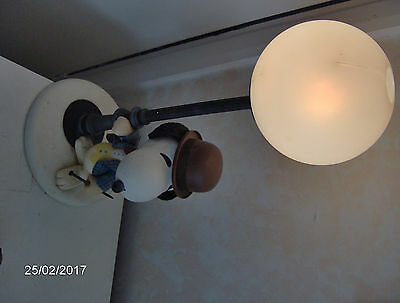 Vintage Snoopy Peanuts Charles M. Schulz LAMP 40W  - Good condition, working