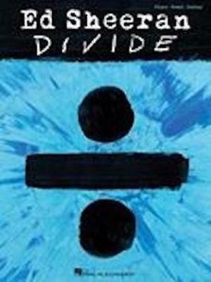 Ed Sheeran Divide ÷ Songbook Piano Vocal Guitar Sheet Music 9781495093654