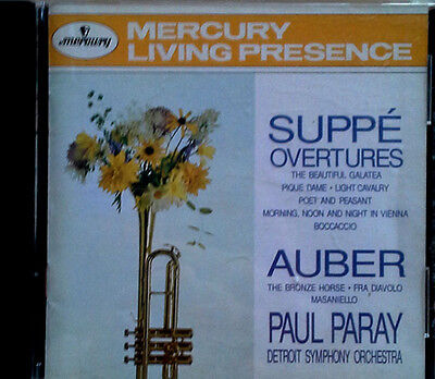 Suppe / Overtures - Paul Paray - Mercury Living Presence - 1992 Cd