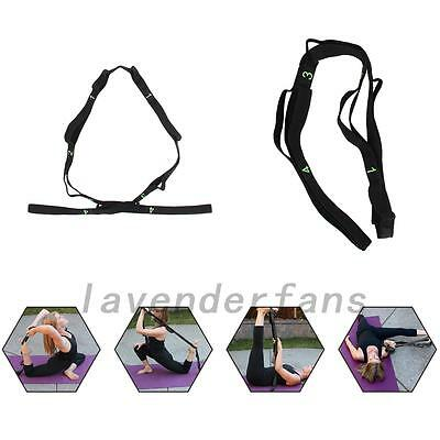 25CM Sport Yoga Stretch Strap Belt Gym Waist Leg Fitness Adjustable Belt New