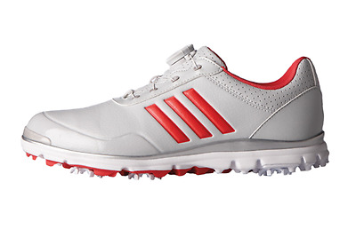 Adidas 2017 Women's Adistar Lite BOA Golf Shoes Q44694 Gray/Pink Color Authentic