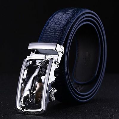 Mens NEW 2017 Navy Golf Belt 30 -36  quality superior leather only 2 left