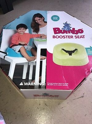 Bumbo Floor Seat, Lime Green Booster Chair Bnib Brand New In Box