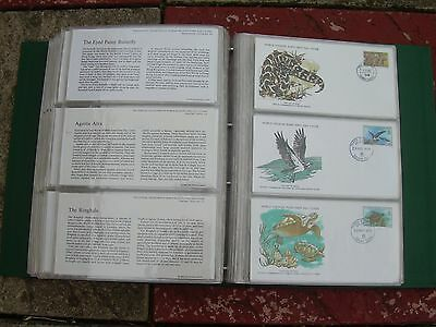 World Wildlife First Day Covers 1976-1979