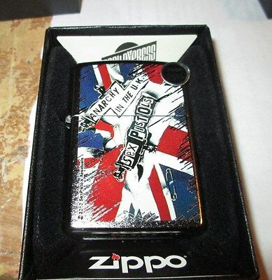 Sex Pistols Zippo Lighter Authentic 2013 Licensed Rock N Roll