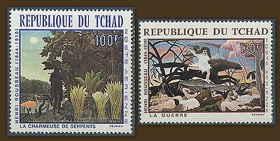 Chad 1968 Air. Paintings MNH