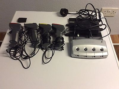 Scalextric Digital Powerbase  + 4 Hand Controllers + Transformer + One Extra Top