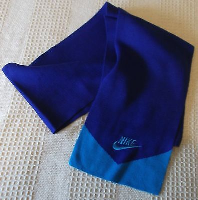 NIKE,  Boys Knitted Blue Scarf , 5-12 Years