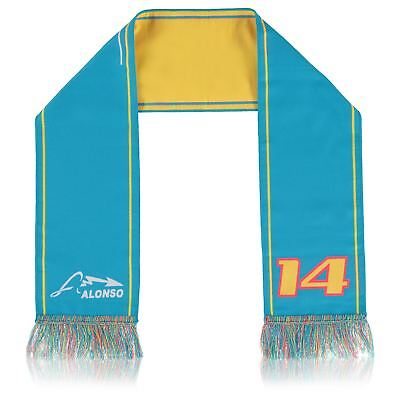 McLaren Honda Official Fernando14 Unisex Casual Sports Racing Fringed Wrap Scarf