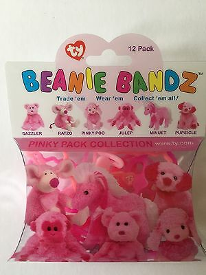 TY Beanie Babies - Beanie Bands - Pinky Pack - 0004  10/12