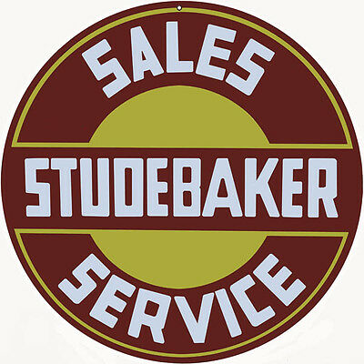 Studebaker Service Station Gas And Motor Oil Metal Sign