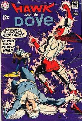 Hawk and the Dove #6 in Fine condition. FREE bag/board