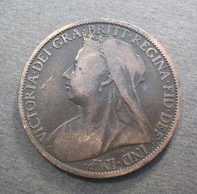 1900 Great Britain Large Penny - * No Reserve *- (L804)