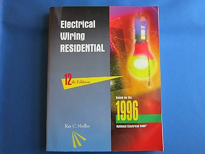 Electrical Wiring Residential Based On 1996 National Electrical Code Paperback